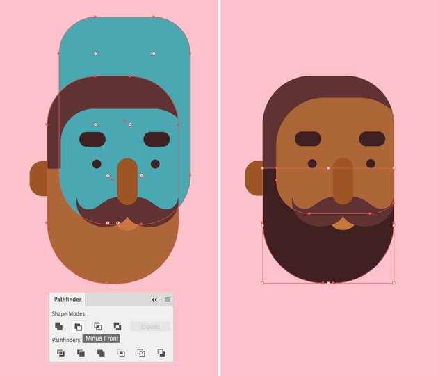 create a hipster beard