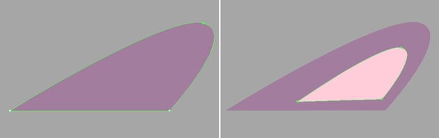 make an ear from a triangle 2
