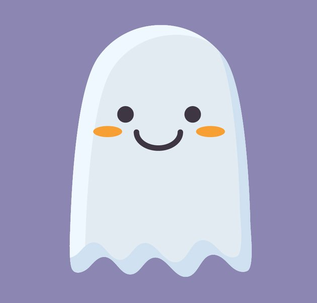 the ghost icon is finished