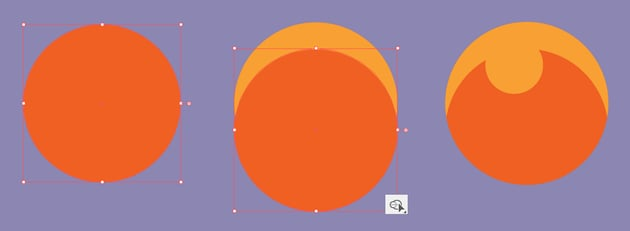 make a bubble from circles