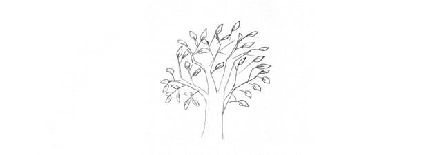 how to draw trees too literal