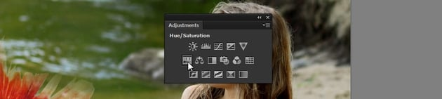how to add an adjustment in photoshop