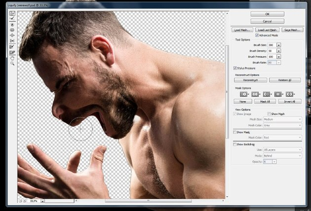 how to change shape in photoshop