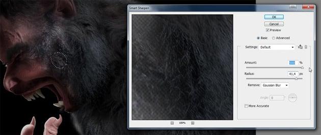 how to sharopen fur