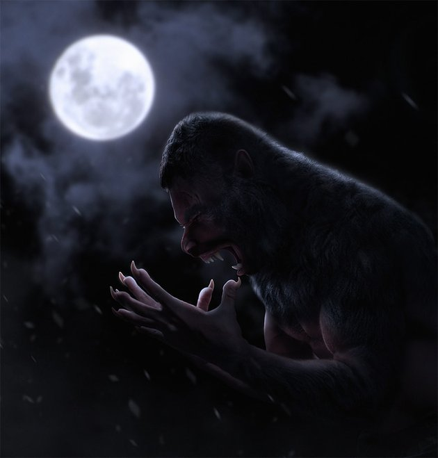 how to create a realistic werewolf photo manipulation in photoshop