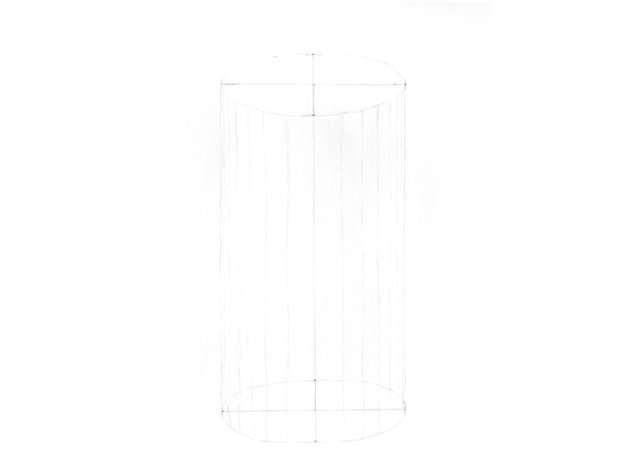 how to draw a cylinder in 3d
