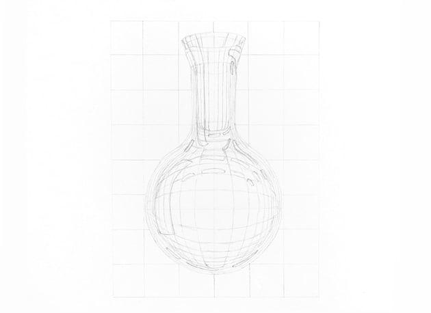 how to draw shiny glass