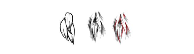 drawing fur technique