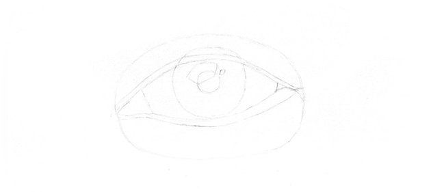 sketch of eye