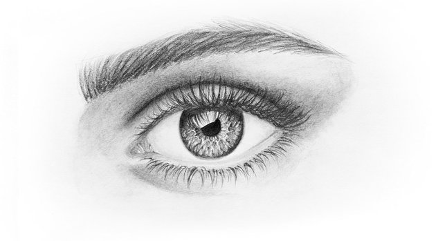 eye with eyelashes