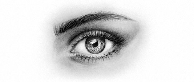 how to draw realistic eye with pencils