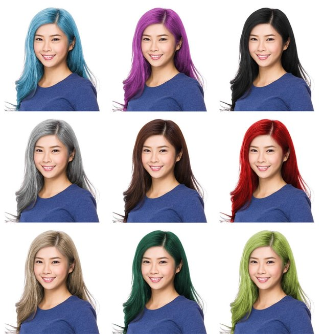 how to change hair color in photoshop