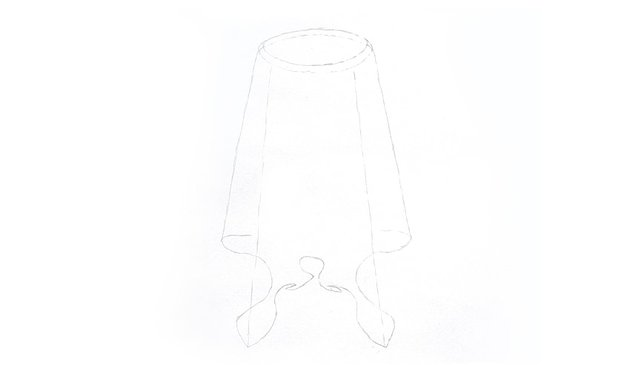 folds of fabric