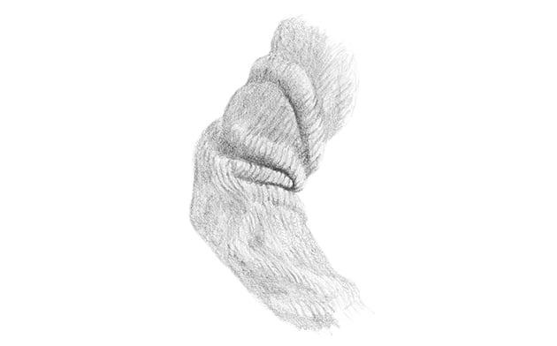how to shade woolen sleeve