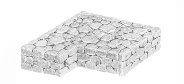 how to shade stone structure