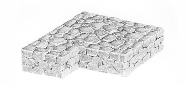how to shade stones