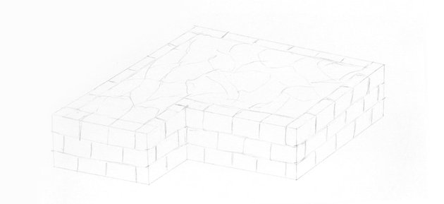 castle wall structure