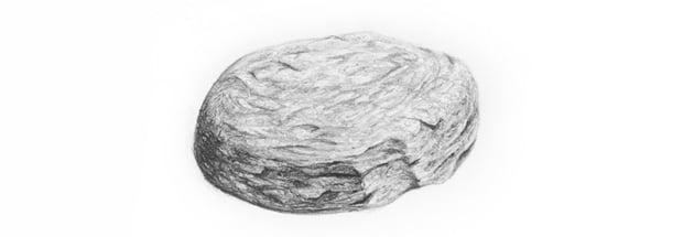 draw rock details