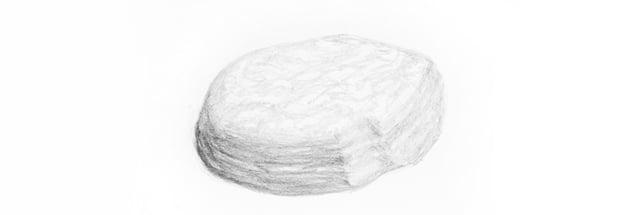 rock pencil texture