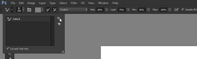 how to use the mizer brush tool