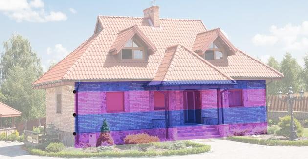 house divide horizontally