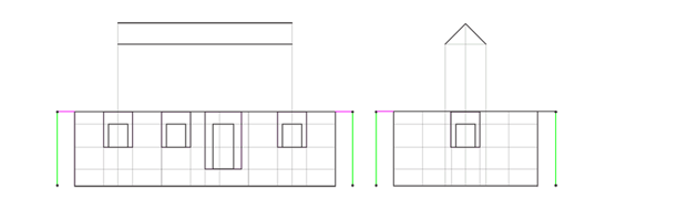 house roof height