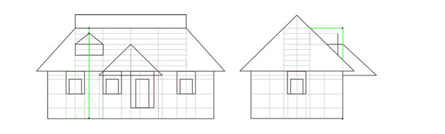 small window roof proportions