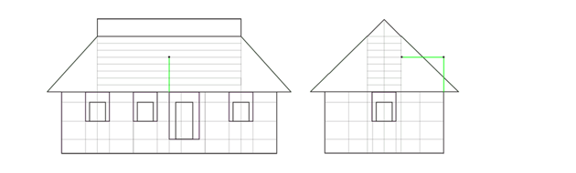 house porch height