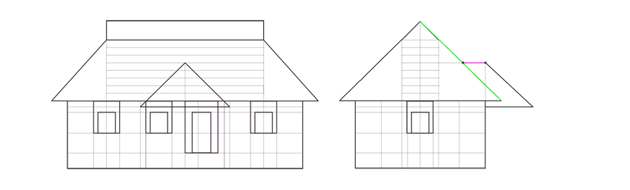 roof curvature lines