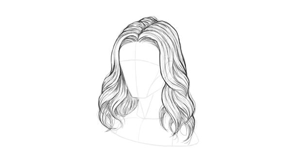 wavy hair stray