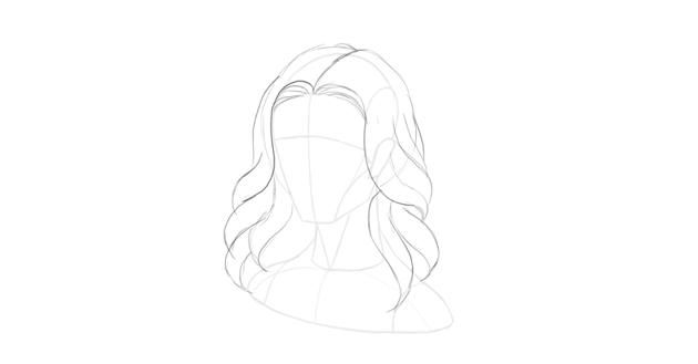 wavy hair tips