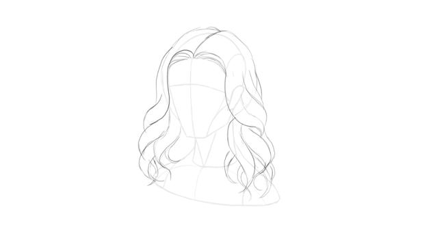 wavy hair little tips