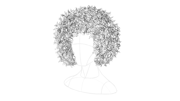 afro hair texture