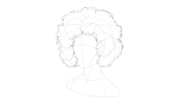 afro hair direction
