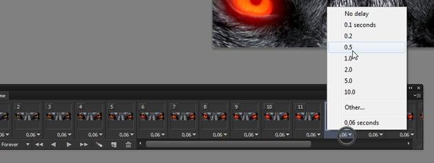 change frame duration