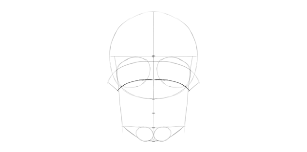 human skull eye ridges