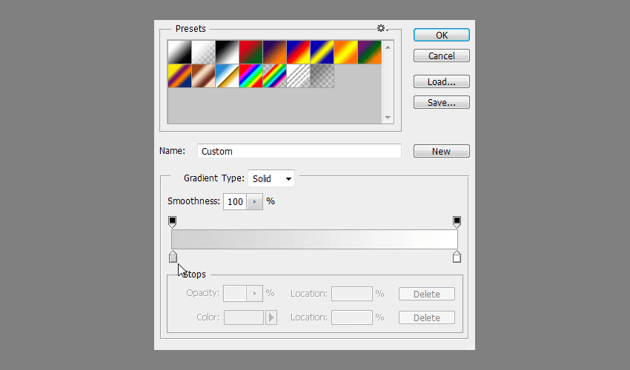 bright gradient