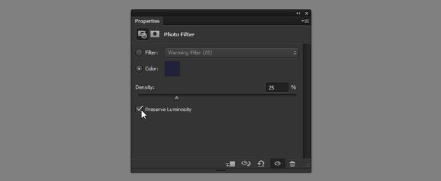 preserve luminosity photo filter
