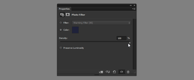 density photo filter