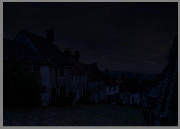 intense darkening photo filter
