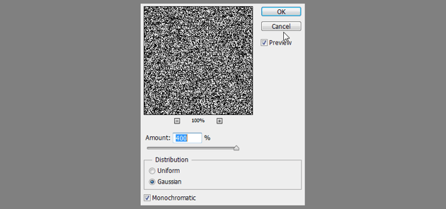 filter add noise