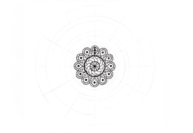 mandala weird details