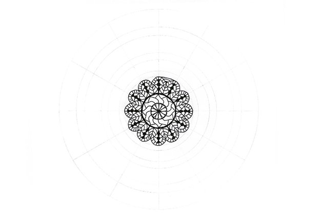 mandala detailed boundary