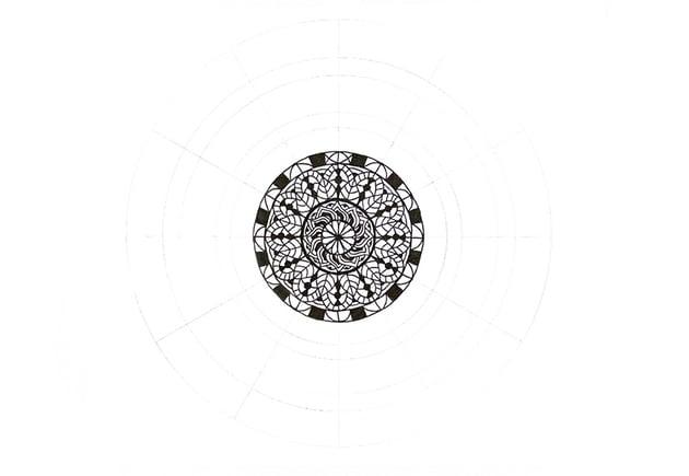 mandala arch details