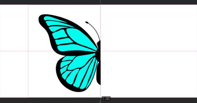photoshop copy merged symmetry