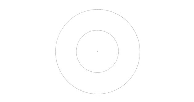 draw a bigger circle