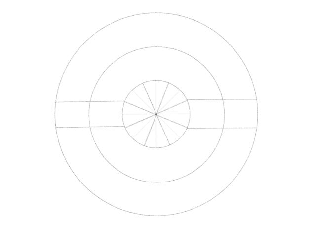 cross the circle