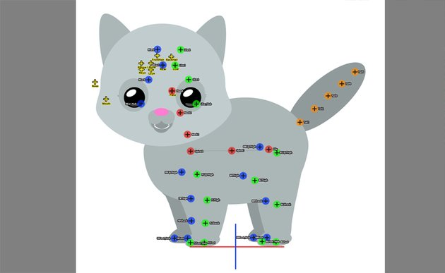 cat hip spine how to animate
