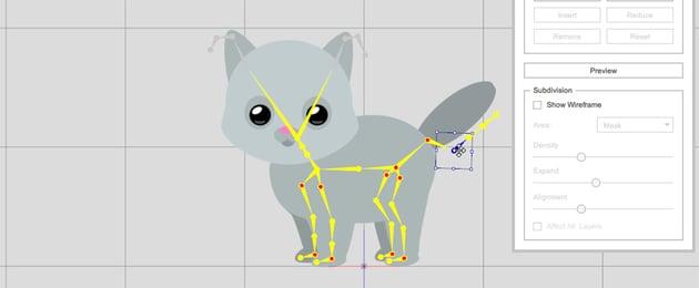 move the bone crazytalk animator