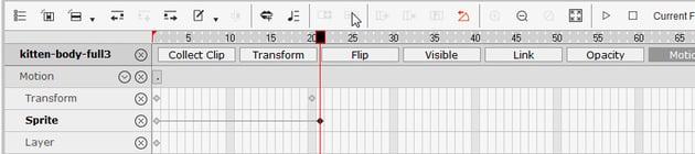 add a keyframe manually crazytalk animator